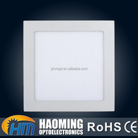 Best price 600x600 15w 85lm/w square led panel recessed light