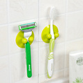 toothbrush holder with suction to bathroom mirrors