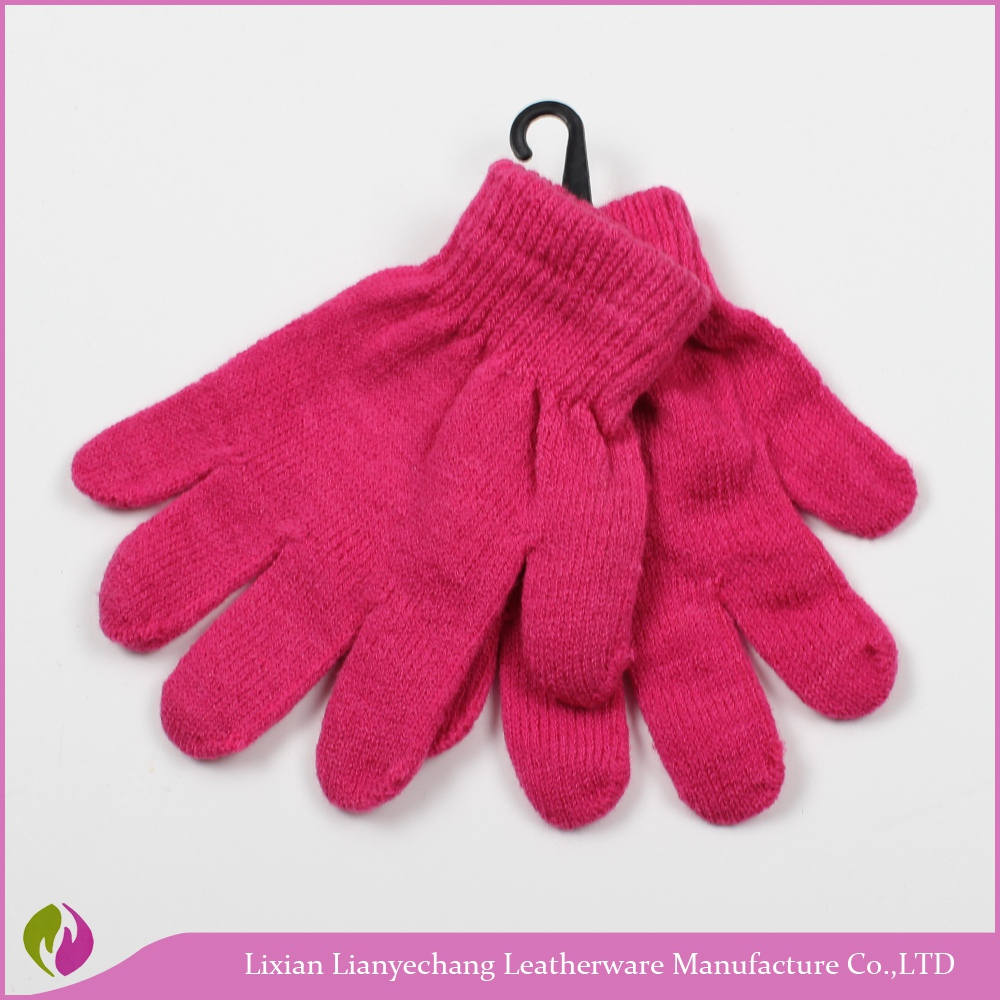 Fingerless men knit gloves Feather yarn gloves