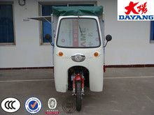New style 200cc cab van tricycle new cab triciclo Cargo Closed Iron Cabin Adult Tricycle