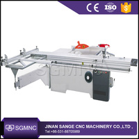 China high precision wood cutting sliding table panel saw machine , woodworking sliding table saw