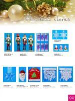 Hot selling christmas figurine/1 dollar christmas angels/christmas promotional figurine/X'MAS dollar nutcracker