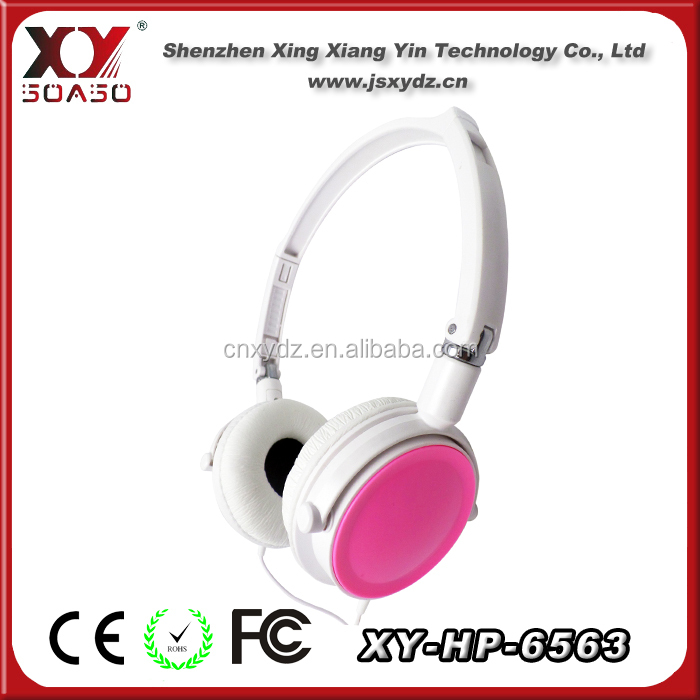 2013 low price colorful headphones for sony