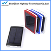 Double USB Output Sun Power Charger 10000mah Mini Solar Panel for Smartphone