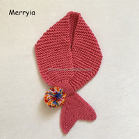 Knit Children S Scarf Cute Girl