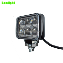 Automobiles Motorcycles 4d headlight 4.3 rectangle LED front lights 18w 4d headlight