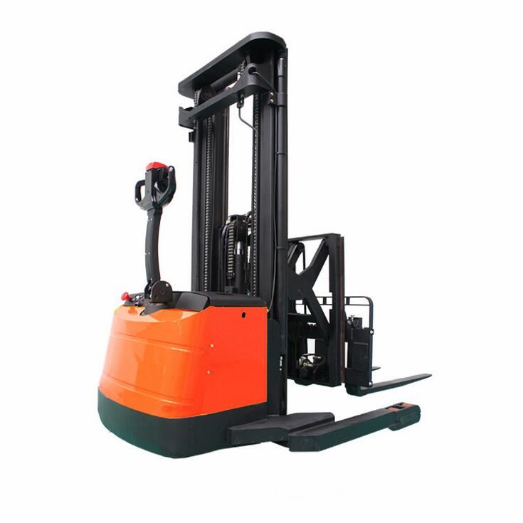new arrival pallet automatic hydraulic stacker fork lift