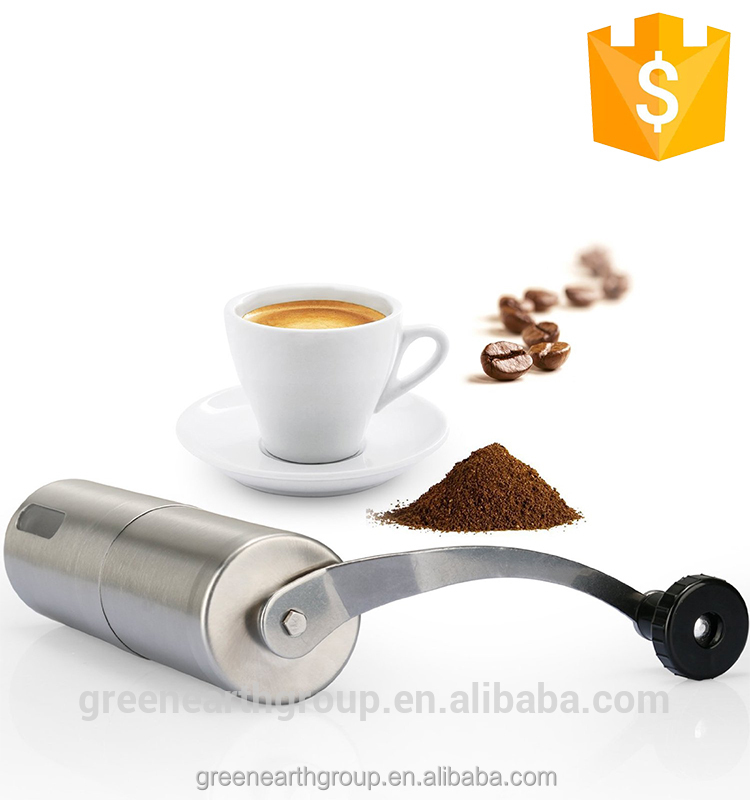 Professional Portable Stainless Steel Hand Manual Coffee Bean Grinder / Kitchen Grinding Tool / Coffee Bean mill