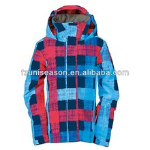 Colorful plus size snowboard jackets womens
