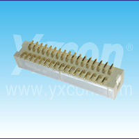 China supplier 2.54mm pitch superior quality double row SMT/ SMD box header connector