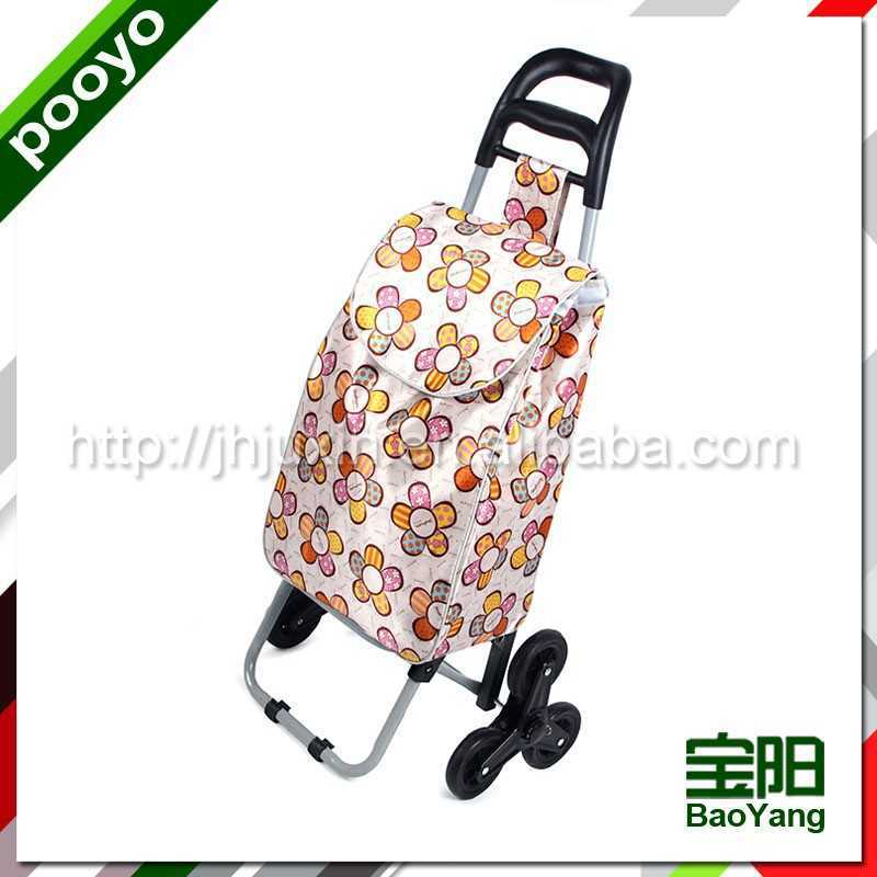 hot sale luggage trolley display promotion trollery