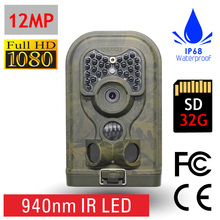 Full HD 1080P 12MP High Definition Surveillance Camouflage Color Track Game Camera Hunting Trail Cam