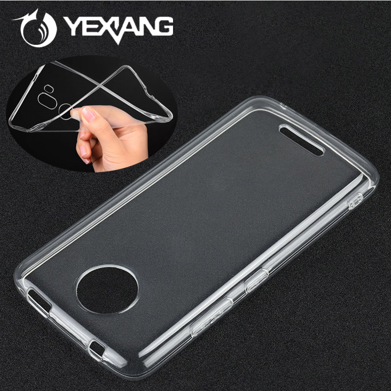 New Arrival Ultra Thin TPU Phone Case Cover for Motorola Moto C plus Transparent