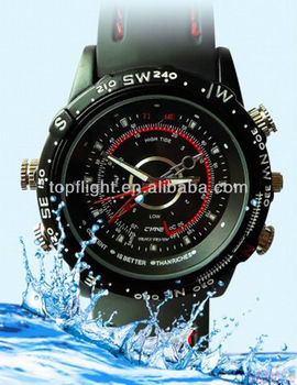 New 4GB/8GB DVR Waterproof Watch 1280*960 WATCH Camera Hidden Video Recorder HD DVR watch