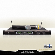STABCL VHF Karaoke Wireless Microphone ST-9000