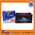 DIN100 Maintenance free car battery 12v100ah mf vehicle battery 60038MF