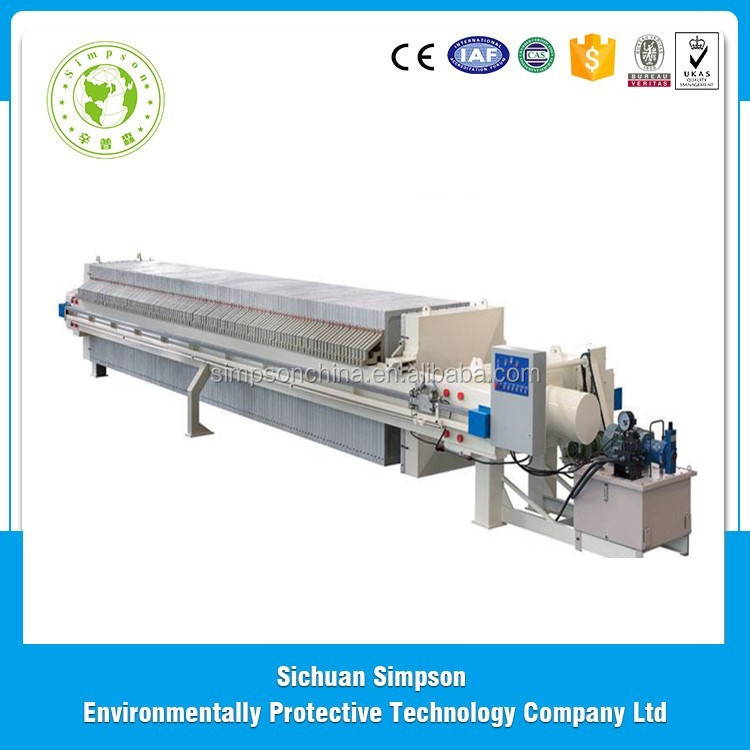 Best selling products 2016 chamber membrane filter press from chinese merchandise