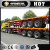 2or 3 axles 40t lowbed semi trailer/truck trailers for loading