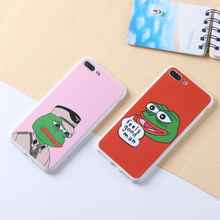 ODM OEM Customized Cell Mobile Smart Phone Common Frog Emoji IMD Phone Case For Iphone 6 6s Plus