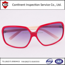 Man And Woman,Baby,Outdoor,Ladies Sunglasses With Metal or Plastic Frame,Finished Product Inspection,QC/QA Inspectors