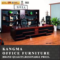 Alibaba trade manager real wood veneer office table price commercial office desk furniture
