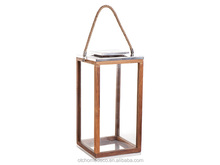 Solid framed glass candle holder_Lantern
