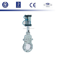 Non-rising stem wear resistant type knife gate valve
