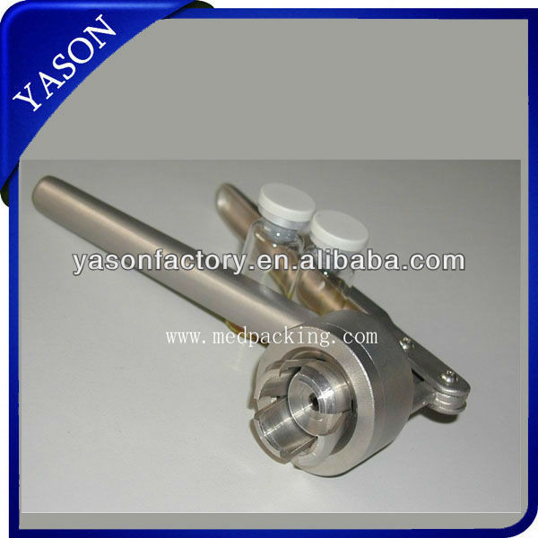 Manual Aluminum Plastic Flip Off Cap Capping Machine