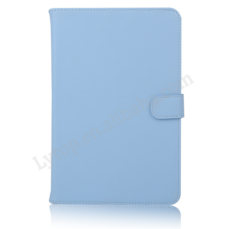 Colorful Candy PU Korea Style Leather Tablet Cover Case for iPad Mini 4,Wallet Case for iPad