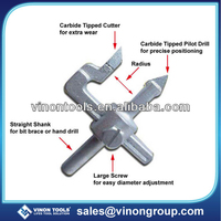 Adjustable Tile Hole Cutter, TCT Ceramic Tile Cutter