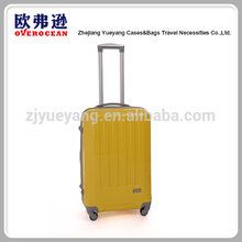 China supplier factory price hard plastic travel trolley luggage bag case