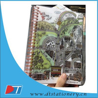 spiral notebook/A5 notebook/pp/pvc cover notebook