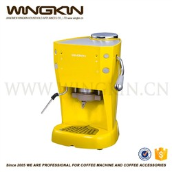 Italy style automatic espresso coffee machine with ABS outer shell colourfule cover