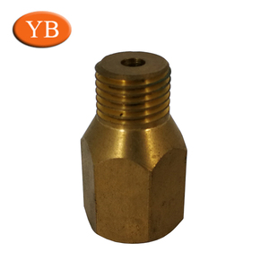 Customized metal brass machine parts, CNC turning machine products in brass / copper / bronze from Dongguan factory