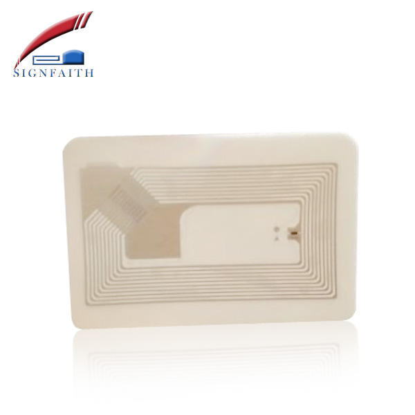 RFID High Temperature Hf Paper Tags With F08