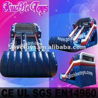 2012 new water Inflatable slide with pool