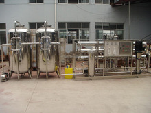 10T Water Treatment Purifying Machine with RO System