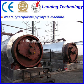 Fully continuous hot sale in South Afria 6 tons waste tyre pyrolysis machine