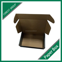 E FLUTE FOLDABLE CORRUGATED SMALL PAPER BOX FOR PENS PACKAGING BEST SALE