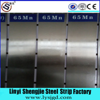 65Mn cold rolled hot treatment spring steel strip
