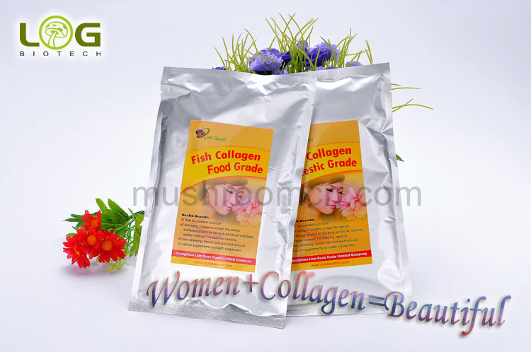 Strengthened skin beauty collagen solution and powder