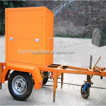 Hot Selling Outdoor Usage Mobile Vacuum Transformer Oil Reclaiming Machine ZYM