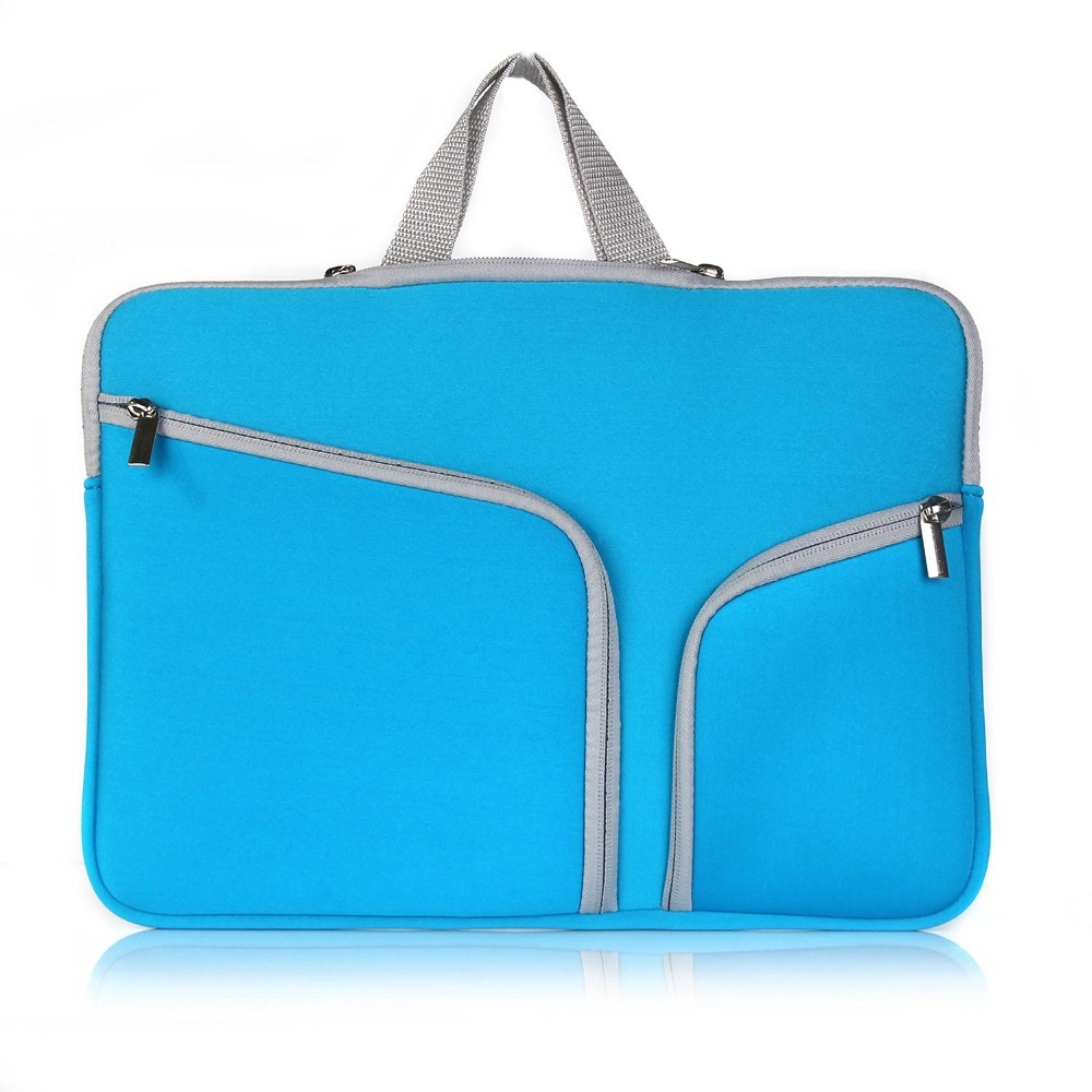 High quality Fashion soft zipper neoprene laptop bag