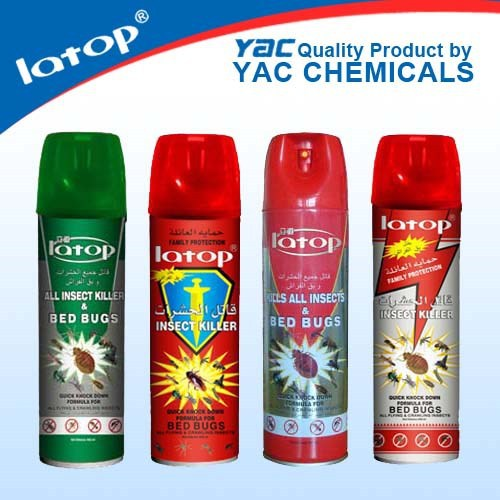 Oil based liquid insect killer 600ML insecticide spray