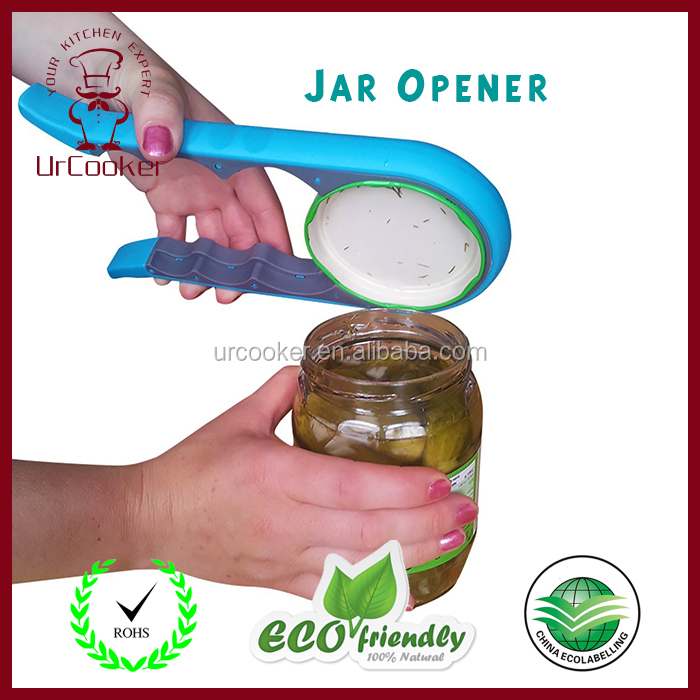 China manufacture pure color personalized PP outer and TPR inner plastic Jar Opener