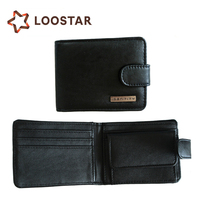 Designer Bifold Leather Belt Clip Money Bag Wallet with Flip Lock Factory Price Carteira Masculina for Mans Wholesale