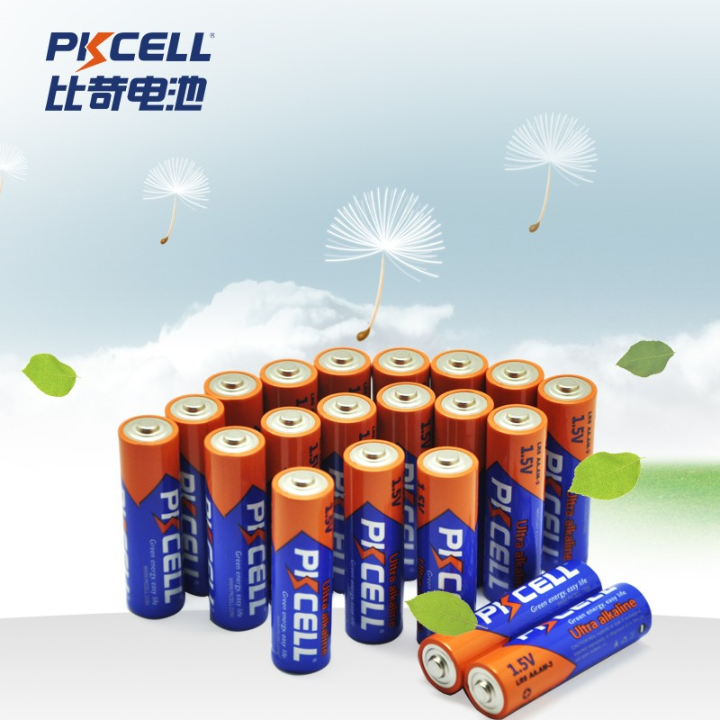 PKCELL Hot sale toys alkaline battery LR6 AA dry battery AM-3/LR6/4B