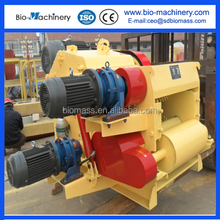 high capacity drum wood chipper for forestry proved by CE