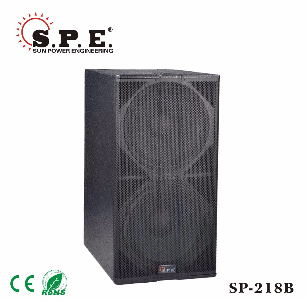 "18"" professional large subwooder 1600W subwoofer box"