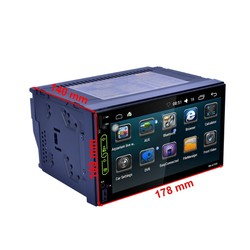 Double Din 7 inch android 6.0 car dvd radio for universal